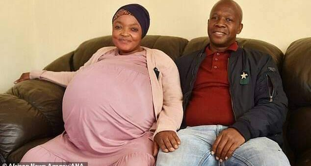 37-year-old Ms Sithole and her Husband